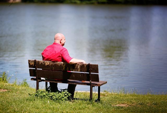 posezení u rybníka