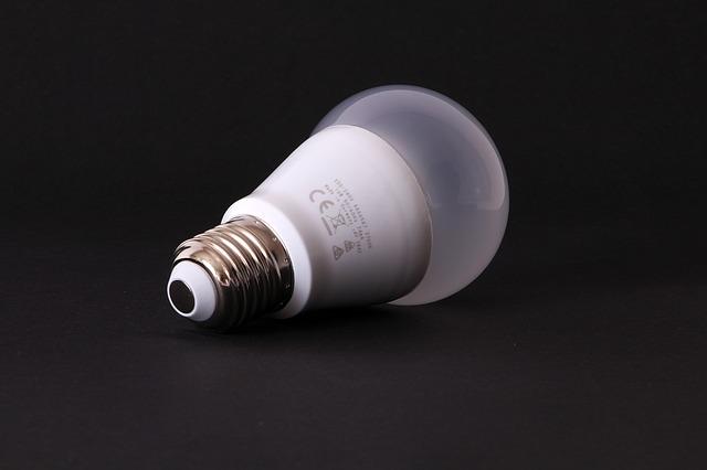 část lampy
