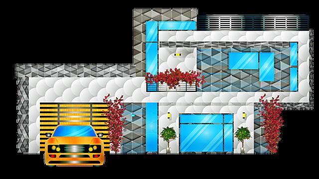plánek nového domu